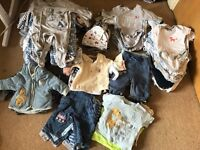 Massive Bundle baby boy clothes newborn-0/3 months very good condition