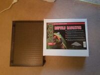 Exo terra, microclimate, lucky reptile superfogger, radiant heat panel, habistat, zoo med heat cable