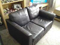 two seater leather sofa free for uplift