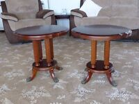 Pair of Somerset Round End Tables