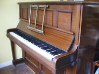 Piano. Made by Rogers in 1916. Renowned make. In good condition for age.