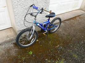 "Boys bike 16"" wheels for 4-6 years old"