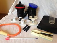 Film developing kit: 2 tanks, 2 reels, changing bag and more! Perfect for photography students!