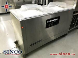 BIZERBA DOUBLE CHAMBER VACUUM SEALER MACHINE