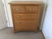 Bedside units and chest