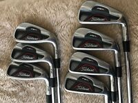 Titleist AP1 712 4 to PW irons - Brand New Standard Golf Pride MCC Plus 4 grips