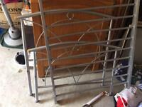 Single bed frame (silver)