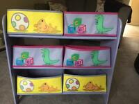 Peppa Pig kids storage furniture