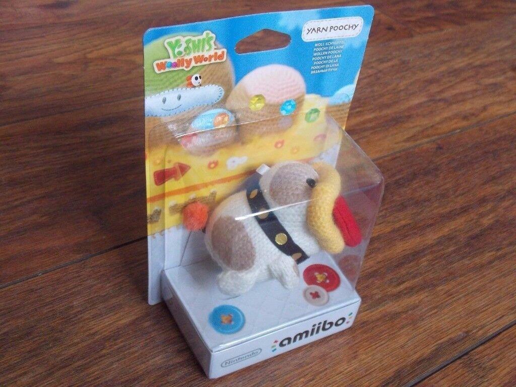 Yarn Poochy Amiibo / BRAND NEW! / BOXED! / Amiibo