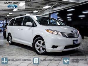 2015 Toyota Sienna LE, Dual Power sliding Doors, Trade in, Car P
