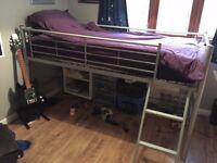 Boys metal cabin bed.