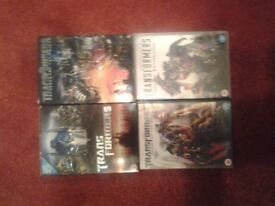 Transformers 4 Film DVD Collection for sale.
