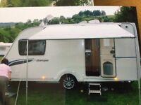 Caravan sun canopy