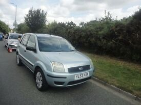 FORD FUSION 1.4 IN NICE MET GREEN