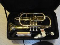 Odyssey Student Cornet with padded case.