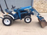 FORD 1210 COMPACT TRACTOR WITH LEWIS LOADER
