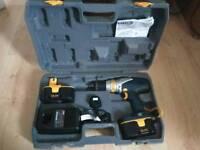 Ryobi CMI-1802 18V. Cordless drill set