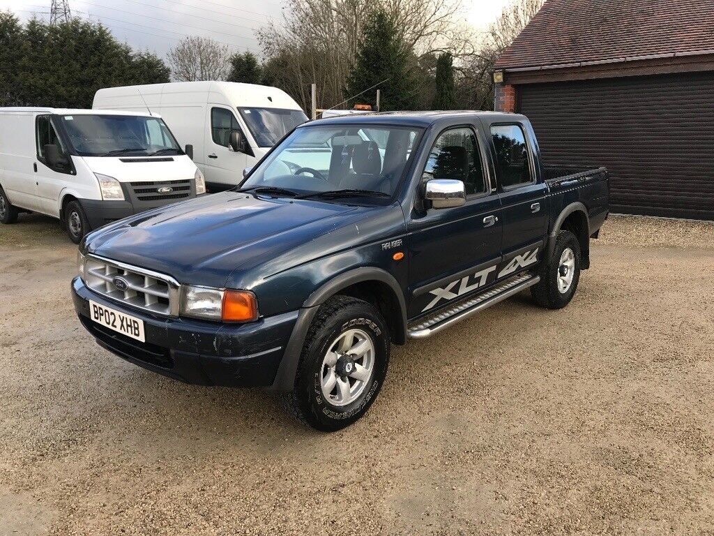 2002 ford ranger xlt 4x4 double cab pick up