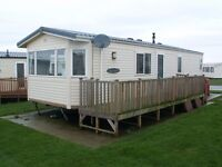 2 bed static on east Yorkshire coast