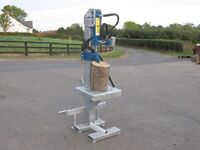 Log Splitter various sizes options available, Saw horse