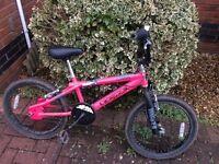 BMX pink girls bike - great condition