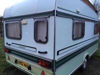 Elddis Tornado Caravan 4 Berth