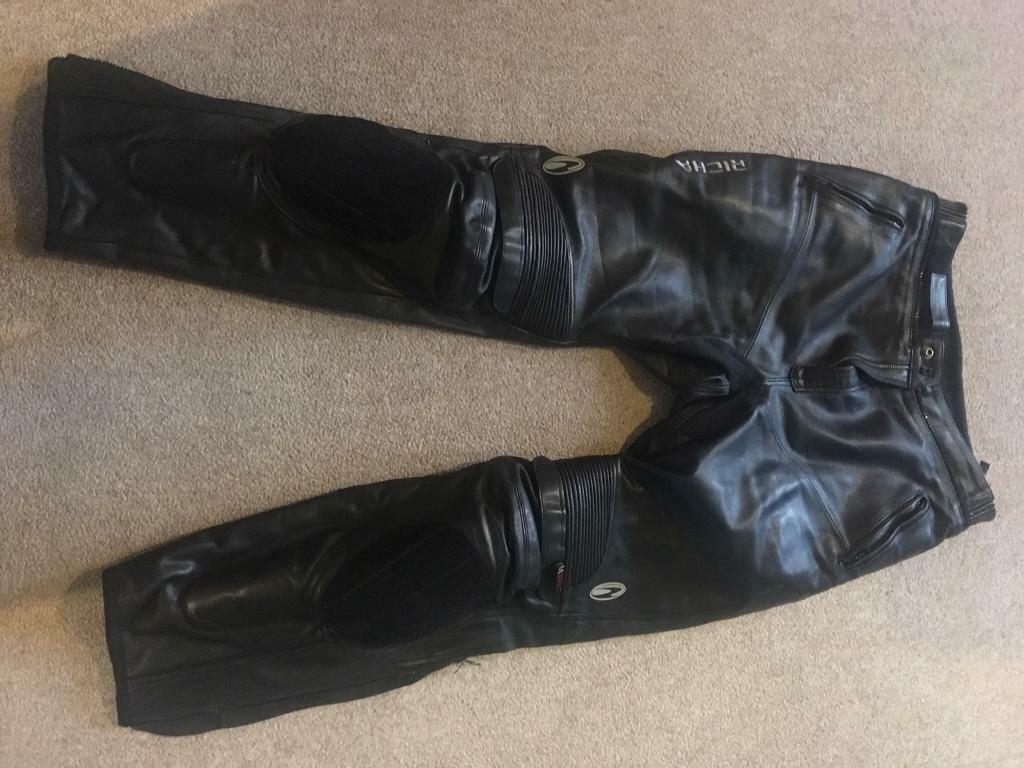 Richa bikers leather trousers