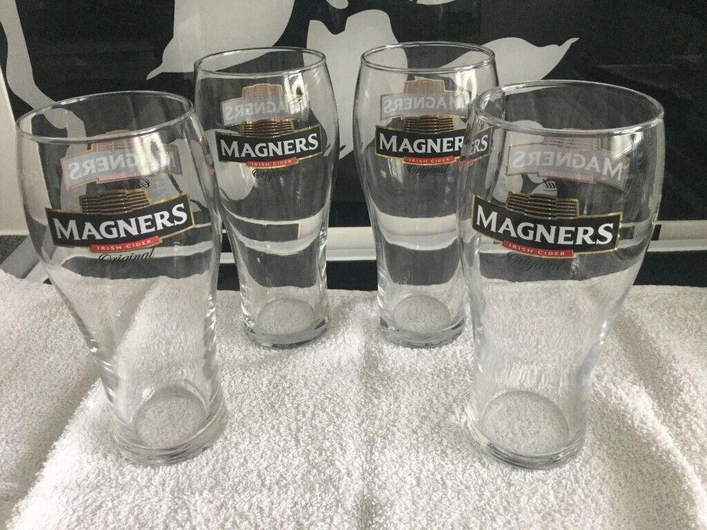 MAGNERS Original Irish Cider NEW Beer Pint Glass