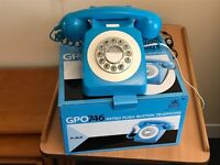 Unusual Blue telephone