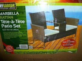 TWIN MARBELLA GARDEN SEATS