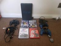 Playstation 2 Original with 4 Games