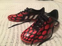 SIZE 5 OZIL ADIDAS INDOOR SOCCER SHOES WORN ONCE