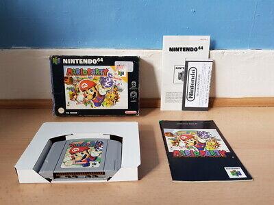 Mario Party N64 Complete Good Con