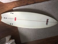 "Surfboard - 6'2"" Fish - Easy, fun board... Good condition with Bag..."