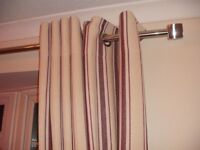 "2 x sets next curtains 90"" x 90"" (229cm) lined"