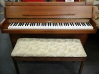 KEMBLE Piano and stool in fab condition