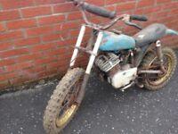 1979 Malaguti motor bike was in gerage clearance