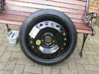 VAUXHALL INSIGNIA SPACE SAVER SPARE WHEEL 2008-2016