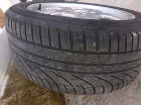 Mercedes sl gen alloy wheels 17inch