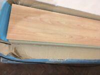 floormaster aqualoc beech effect ,15 packs one pack has been opened,buyer collects,beech effect
