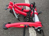 Saris bones 3 bike rack in red