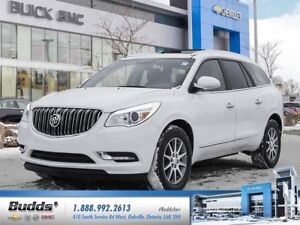 2017 Buick Enclave Leather INTELLILINK COLOUR TOUCH RADIO, Le...