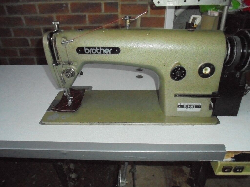 Brother Mark Ii Industrial Sewing Machine For Horse Rugs Upholstery