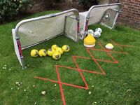 Samba Aluminium Folding Football Goals and football equipment