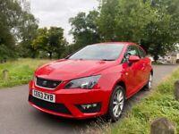 Seat Ibiza FR 1.2 Petrol Manual 3 Door Hatchback 2013 Red Stunning Car