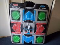 DDR Dance Mat - Dance Dance Revolution for PC, PS2, Gamecube, Wii, Xbox - exercise accessory