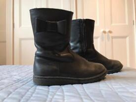 M&S Kids girls boots size 8 UK