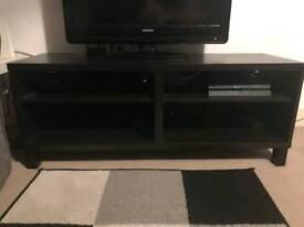 Black/brown tv unit