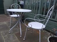 Patio set table & chairs