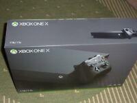 XBOX ONE X Unwanted Gift SEALED BOX